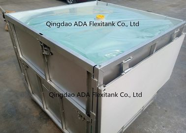 High Performance Foldable IBC / Intermediate Bulk Container Tank 1200 KGS Load Bearing